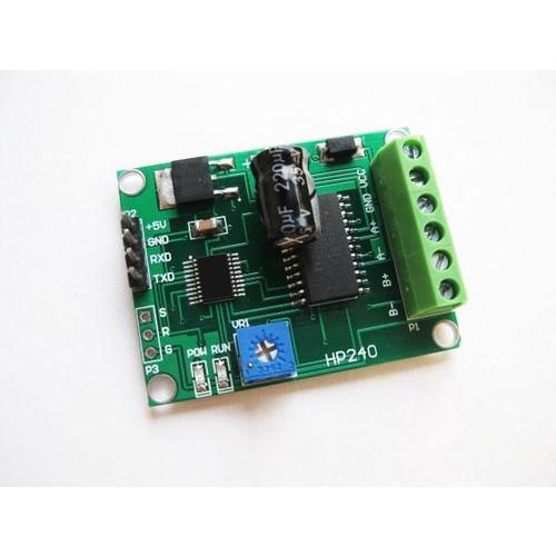 WWH-1pc HP240-TTL232 Stepper motor drive + control serial 750ma current