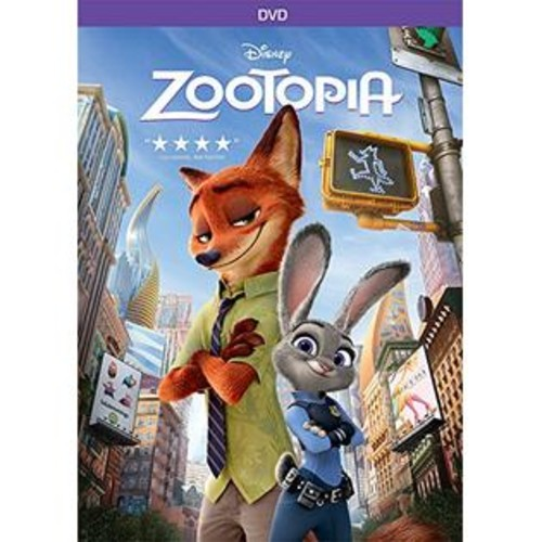 Walt Disney Studios Zootopia DVD Ginnifer Goodwin, Jason Bateman
