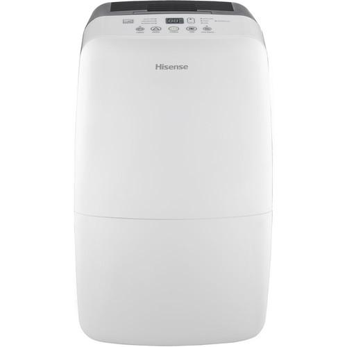 Hisense 50 Pint Dehumidifier with Built-in 1200W Heater, Electronic Controls per EA