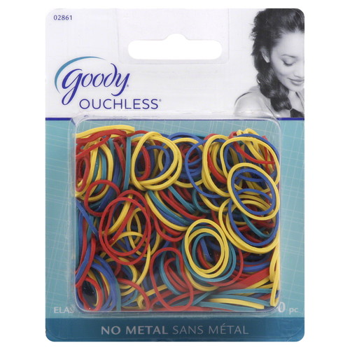 Goody Classics Rubberband, Assorted Colors, 250 CT