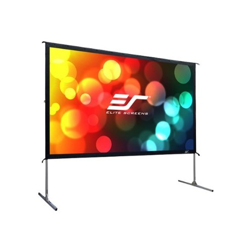 Elite Screens Yard Master 2 Series OMS90H2 - Projection screen with legs - 90 in (90.2 in) - 16:9 - CineWhite (OMS90H2)