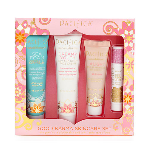Pacifica Your Face Just Got Lucky Skincare Set -- 4 Pieces