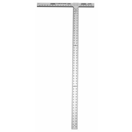 Empire Level 418-48 3/16-Inch Thick, 47-7/8-Inch Professional Drywall T-Square