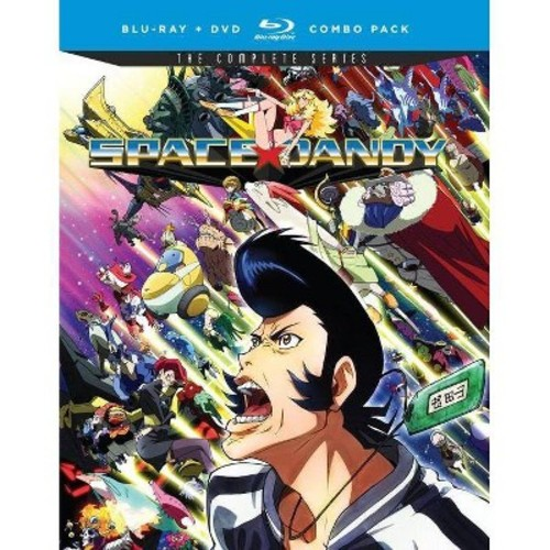 Space Dandy: The Complete Series [Blu-Ray] [DVD]