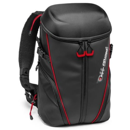 Manfrotto Off Road Stunt Backpack for 3 Action Cameras, Black MB OR-ACT-BP