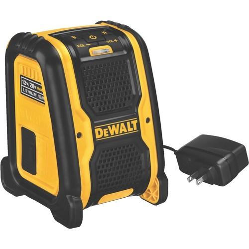 DeWalt 12V/20V MAX Cordless Bluetooth Speaker - Bare Tool - DCR006