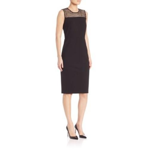 COLLECTION Sleeveless Mesh Dress