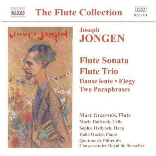 Jongen: flute Sonata/flute Trio