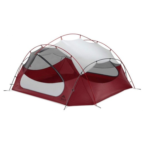 MSR Papa Hubba NX Tent - 4 Person, 3 Season 2758, Tent Type: Backpacking, Doors: 2, Weight: 5.9 w/ Free Shipping