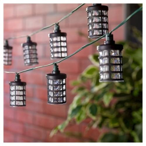 Smart Solar String Light Amalia Black - 20 White LEDs