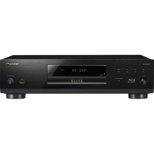 Pioneer Elite BDP-85FD Universal 3D Blu-ray player with advanced 4K upscaling and networking