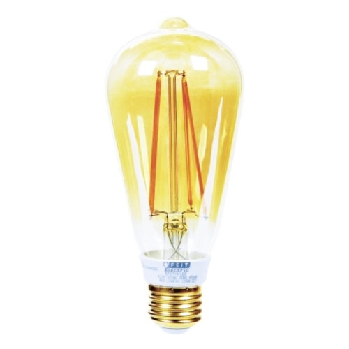 Feit Dimmable LED Vintage Style Edison Bulb (BPST19/LED)