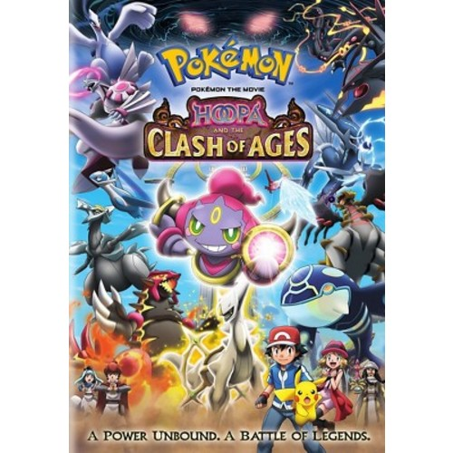 Pokemon the Movie: Hoopa and the Clash of Ages (dvd_video)
