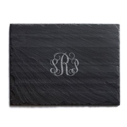 Traditional Script Slate Cheese Board