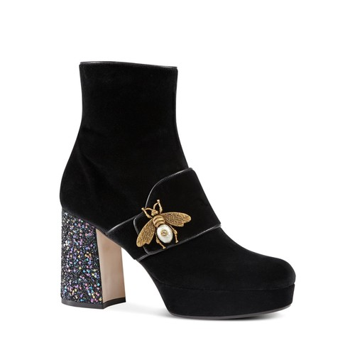 GUCCI Soko Bee Platform Booties