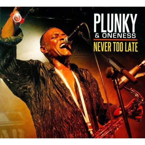 Never Too Late [CD]