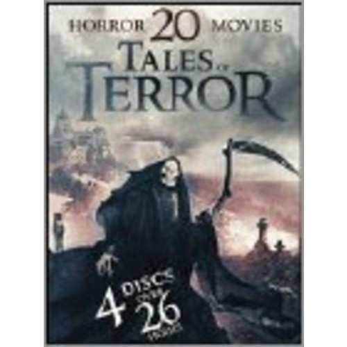 20 Horror Movie Collection: Tales of Terror [4 Discs] [DVD]