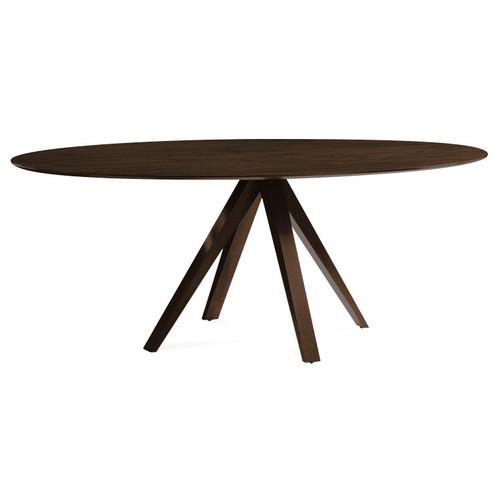 Nova Dining Table [Wood Finish : NOV-Flax - Flax]