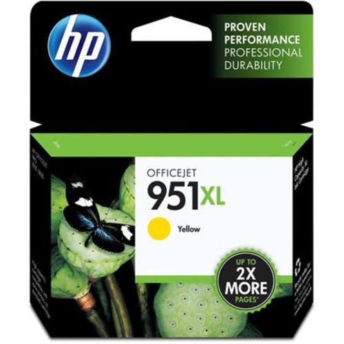 HP 951XL Officejet Ink Cartridge, Yellow CN048AN