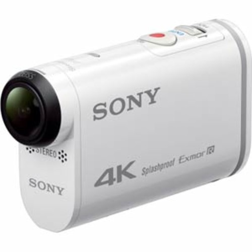 Sony 4K Action Cam with Wi-Fi & GPS - White