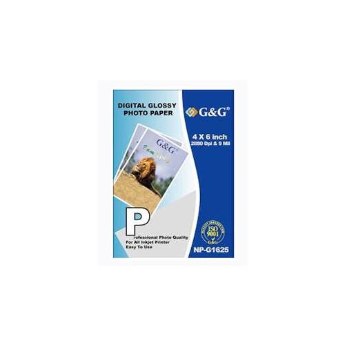 G&G 4 X 6 Inch Digital Glossy Photo Paper - 100 Sheets
