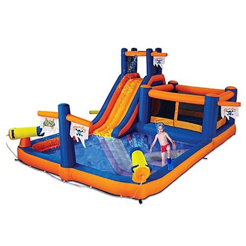 Blast Zone Pirate's Bay Inflatable Play Park