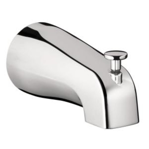Hansgrohe Tub Spout with Diverter in Chrome