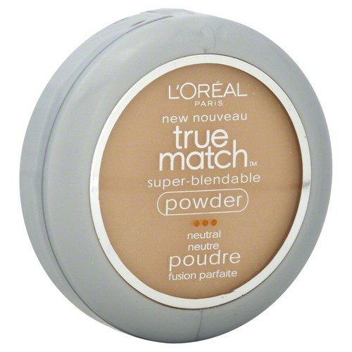 L'Oreal True Match Super-Blendable Powder, Neutral, Natural Buff N3, 0.33 oz (9.5 g)