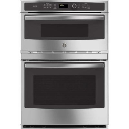 GE Profile 30 in. Electric Convection Wall Oven with Built-In Advantium Microwave in Stainless Steel