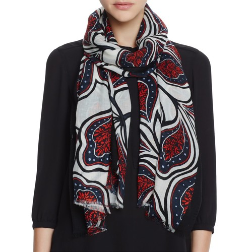 TORY BURCH Milan Floral Oblong Scarf