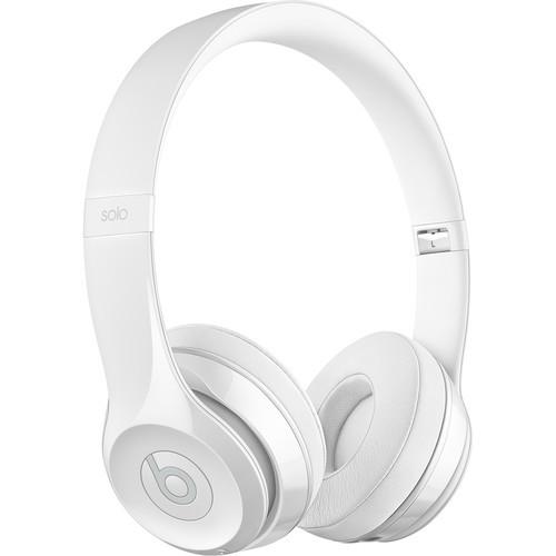 Beats Solo3 Wireless On-Ear Headphones (Gloss White)