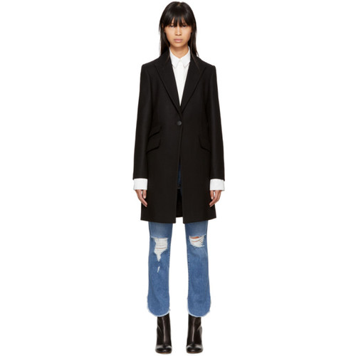 RAG & BONE Black Duchess Coat