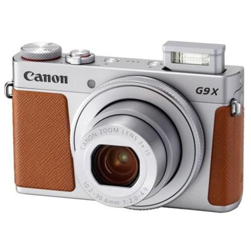 Canon PowerShot G9 X Mark II 20.1MP Digital Camera,Silver - With Free Acc Bundle