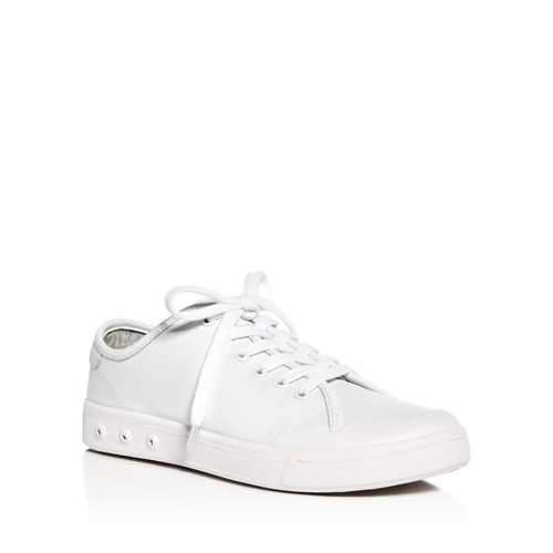 RAG & BONE Women'S Standard Issue Leather Lace Up Sneakers