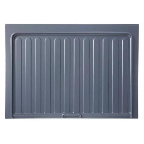 Rev-A-Shelf 0.72 in. H x 28.5 in. W x 23.25 in. D Small Silver Sink Base Drip Tray