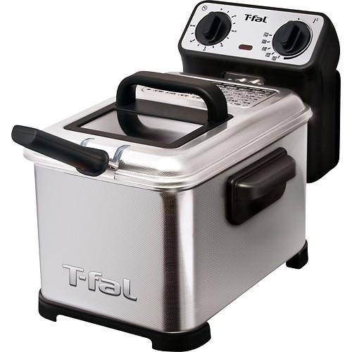 T-Fal - Family Professional 3L Deep Fryer - White