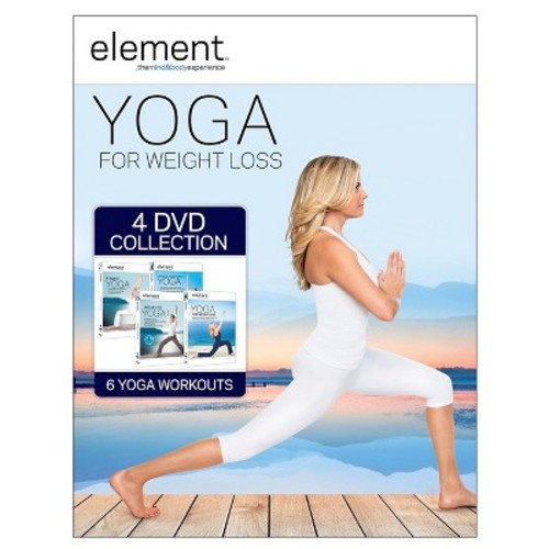 Element Yoga for Weight Loss Collection - 4 Discs (DVD)