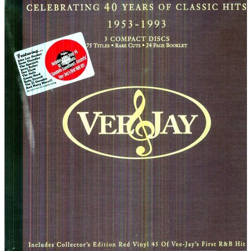 Vee-Jay: Celebrating 40 Years of Classic Hits 1953-1993 [CD]