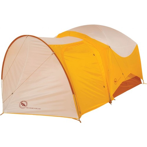 Big Agnes Big House 6 Deluxe Vestibule TVESTBH6DLX17, Color: Gold/white, Body Material: Polyester, Internal Height: 62, w/ Free Shipping