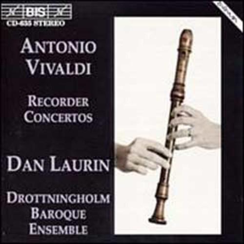 Vivaldi: Recorder Concertos By Dan Laurin (Audio CD)