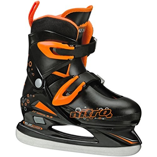 Lake Placid Boys' Nitro 8.8 Adjustable Figure Skates