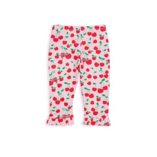 Baby's Pink Cherry Print Leggings
