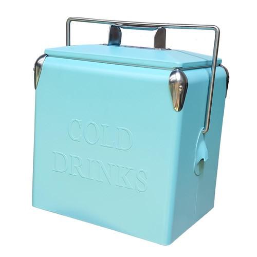 Permasteel 14 Qt. Portable Picnic Cooler Turq