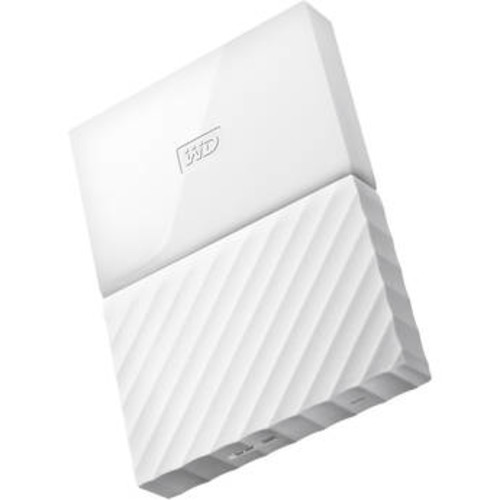 3TB My Passport USB 3.0 Secure Portable Hard Drive (White)