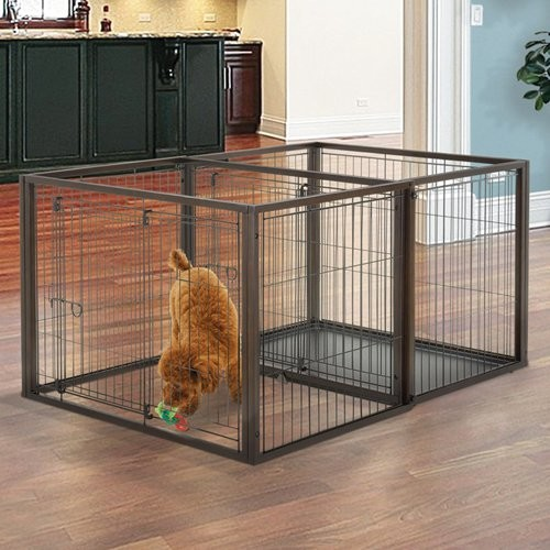 Richell Small Flip to Play Pet Crate