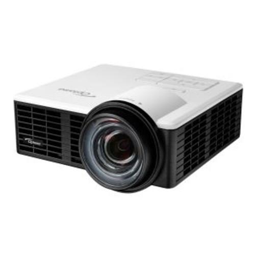 Optoma ML750ST - DLP projector - 3D - 800 lumens - WXGA (1280 x 800) - 16:10 - HD 720p