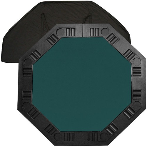 Trademark 8 Player Octagonal Table top - Dark Green - 48 inch