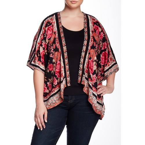 Printed Kimono (Plus Size)