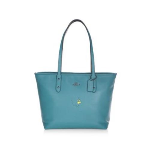 Snoopy Leather Shoulder Bag