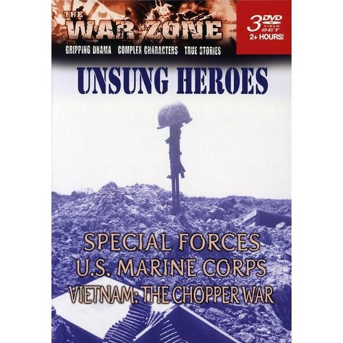 War Zone: Unsung Heroes (3 Discs) (Boxed Set) (DVD)